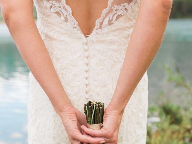 Clay and Cassie's wedding in Kananaskis, Alberta 54
