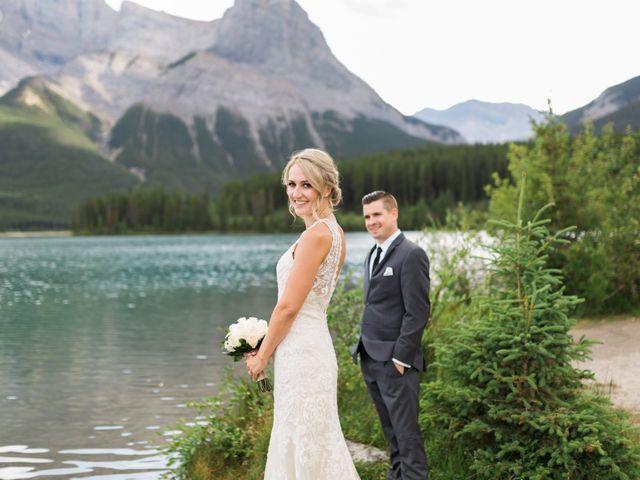 Clay and Cassie's wedding in Kananaskis, Alberta 56