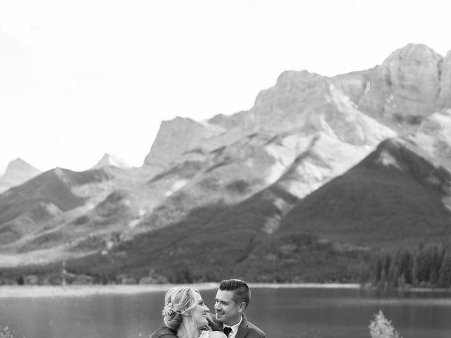 Clay and Cassie's wedding in Kananaskis, Alberta 57