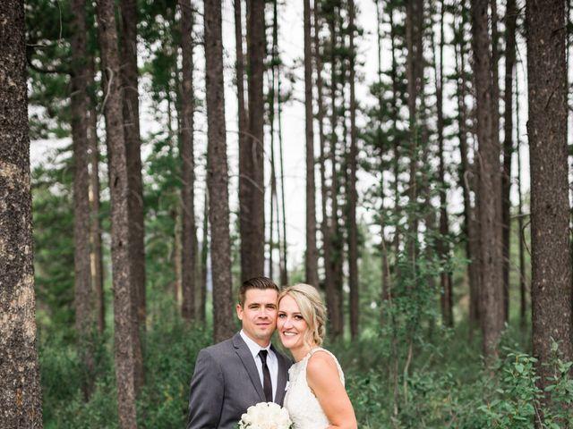 Clay and Cassie's wedding in Kananaskis, Alberta 58