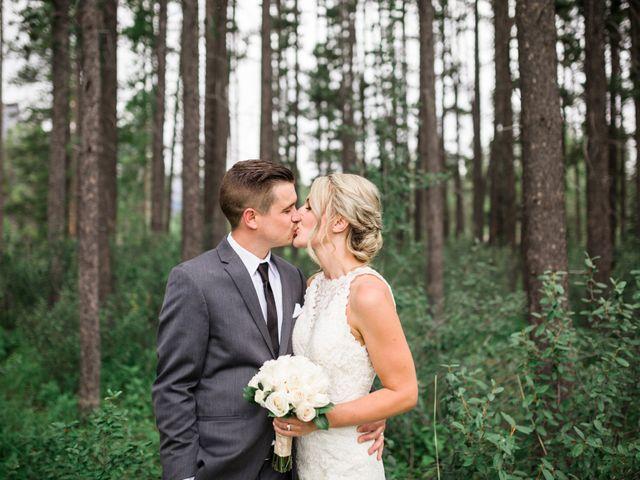 Clay and Cassie's wedding in Kananaskis, Alberta 59