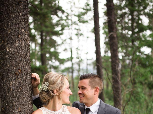 Clay and Cassie's wedding in Kananaskis, Alberta 66