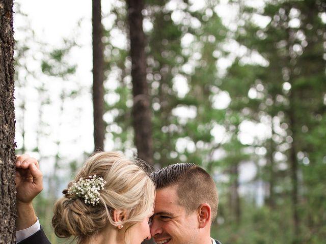 Clay and Cassie's wedding in Kananaskis, Alberta 67