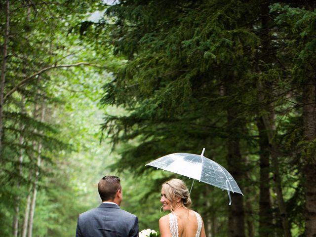 Clay and Cassie's wedding in Kananaskis, Alberta 68