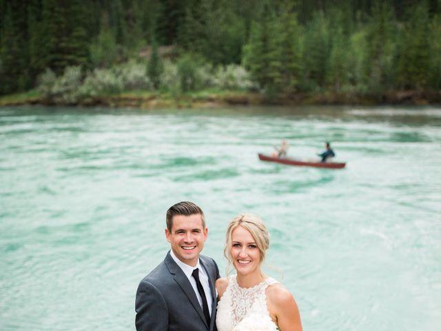Clay and Cassie's wedding in Kananaskis, Alberta 70
