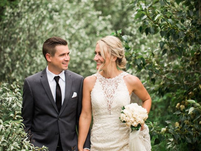 Clay and Cassie's wedding in Kananaskis, Alberta 71