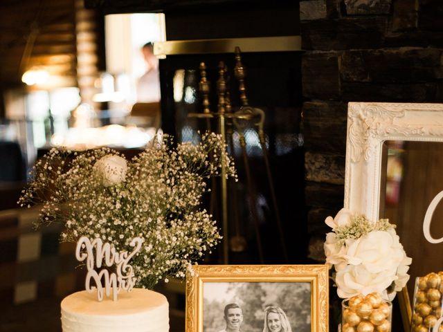 Clay and Cassie's wedding in Kananaskis, Alberta 79