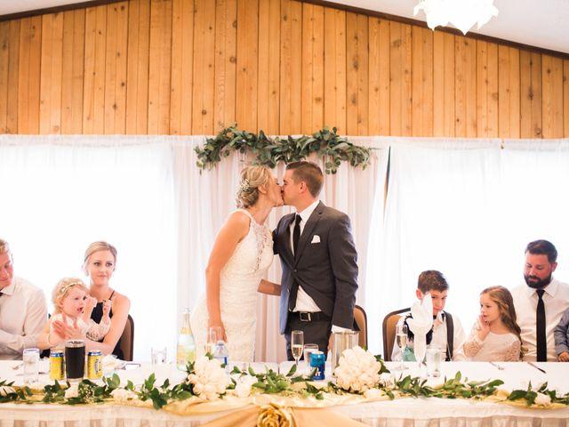 Clay and Cassie's wedding in Kananaskis, Alberta 2