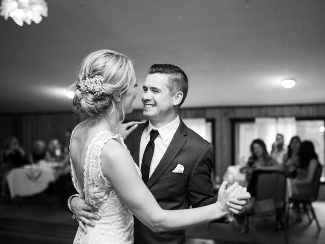 Clay and Cassie's wedding in Kananaskis, Alberta 86