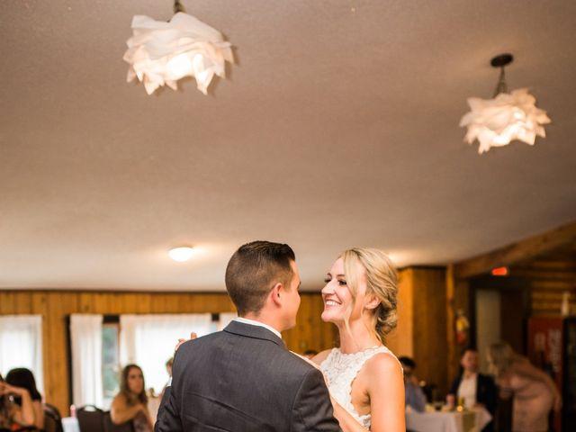 Clay and Cassie's wedding in Kananaskis, Alberta 87