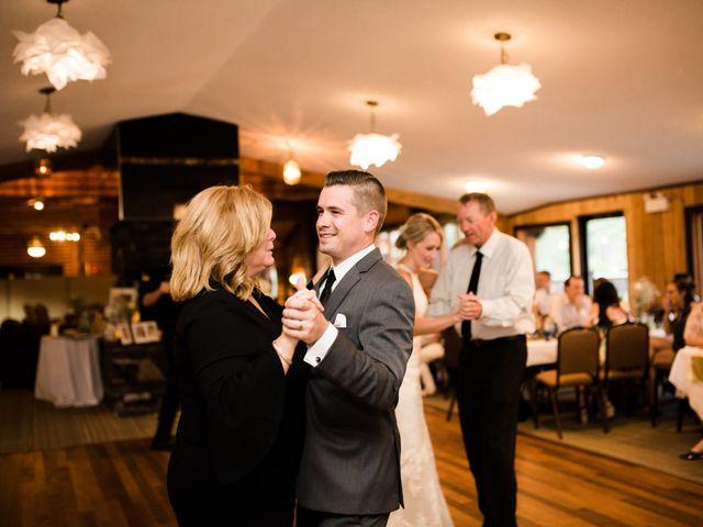 Clay and Cassie's wedding in Kananaskis, Alberta 88