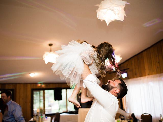 Clay and Cassie's wedding in Kananaskis, Alberta 91