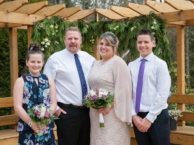 The wedding of Bobie and Dan