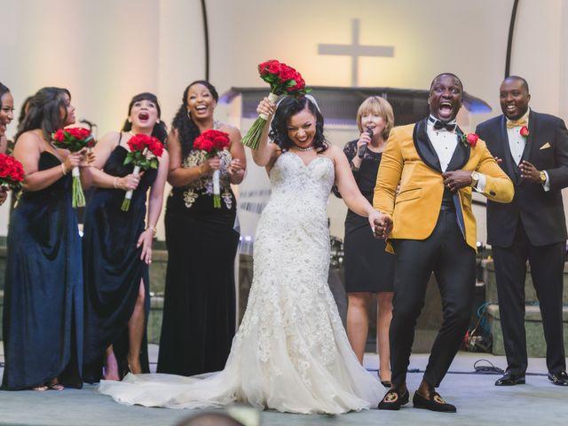The wedding of Julia and Leon