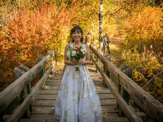 Chris and Jess's wedding in Canmore, Alberta 9