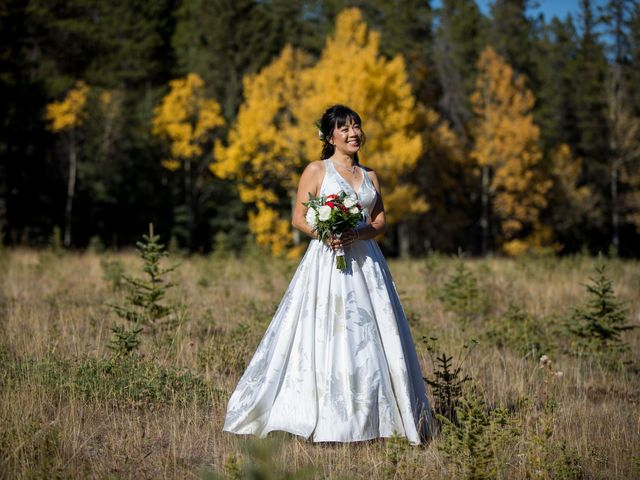 Chris and Jess's wedding in Canmore, Alberta 11
