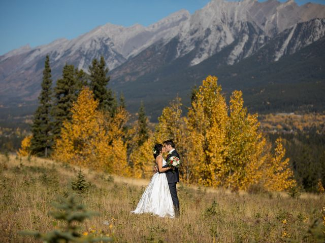 Chris and Jess's wedding in Canmore, Alberta 12