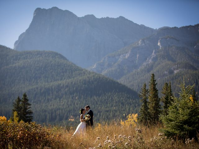Chris and Jess's wedding in Canmore, Alberta 13