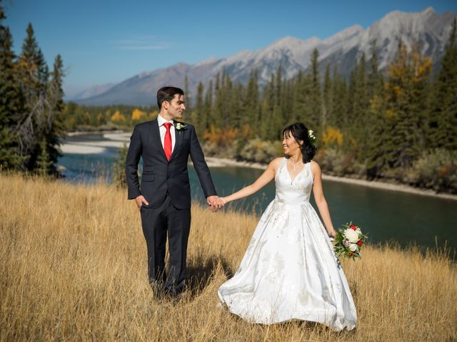 Chris and Jess's wedding in Canmore, Alberta 18