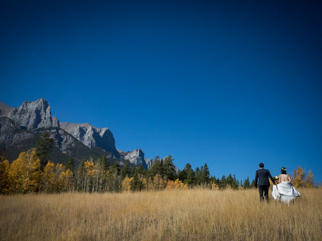 Chris and Jess's wedding in Canmore, Alberta 19