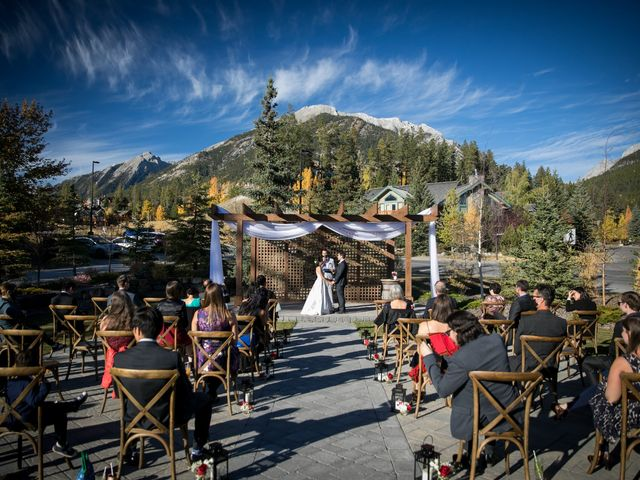 Chris and Jess's wedding in Canmore, Alberta 28