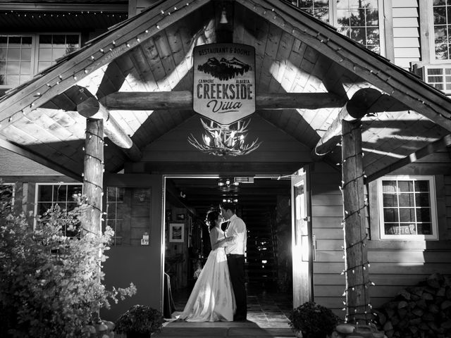 Chris and Jess's wedding in Canmore, Alberta 36