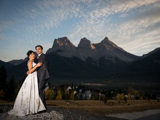 Chris and Jess's wedding in Canmore, Alberta 2