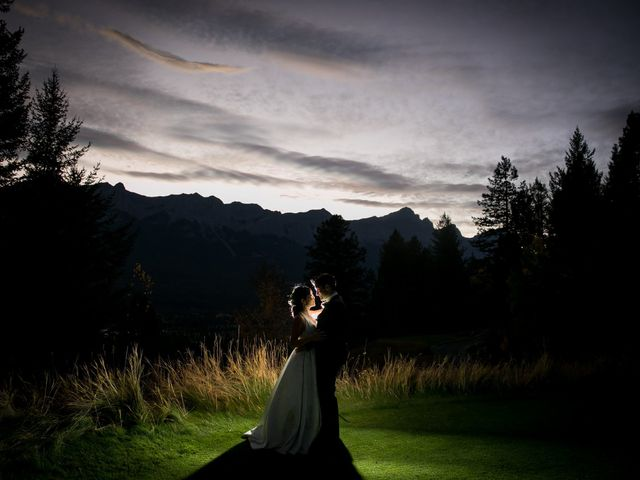 Chris and Jess's wedding in Canmore, Alberta 37