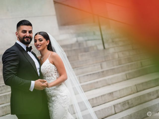 Wassim and Sabrina's wedding in Montreal, Quebec 12