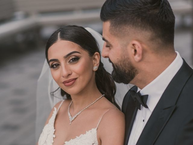 Wassim and Sabrina's wedding in Montreal, Quebec 14