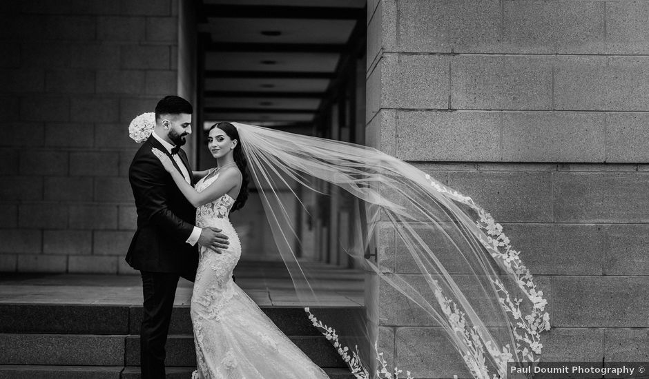 Wassim and Sabrina's wedding in Montreal, Quebec