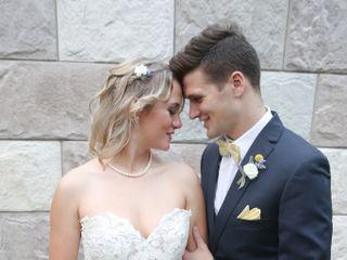 The wedding of Chloe and Joseph 1