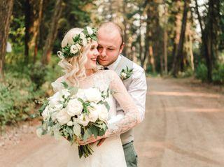 The wedding of Kaitlynn and Cody