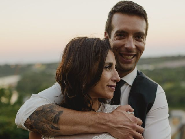 The wedding of Val and Mitch