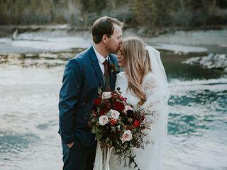 The wedding of Destiny and Sam