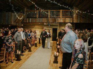 The wedding of Destiny and Sam 1