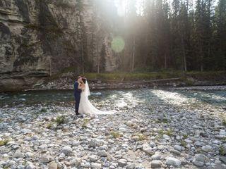 The wedding of Lindsay and Brad