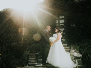 The wedding of Cindy and Derek