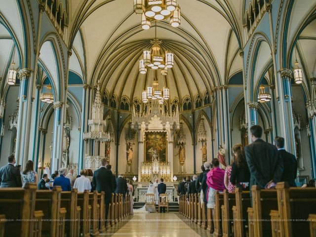Adam and Karine's wedding in Beaconsfield, Quebec 2