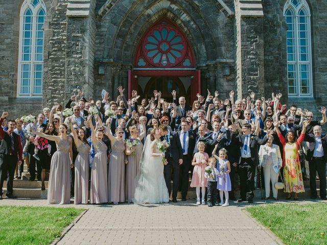 Adam and Karine's wedding in Beaconsfield, Quebec 4