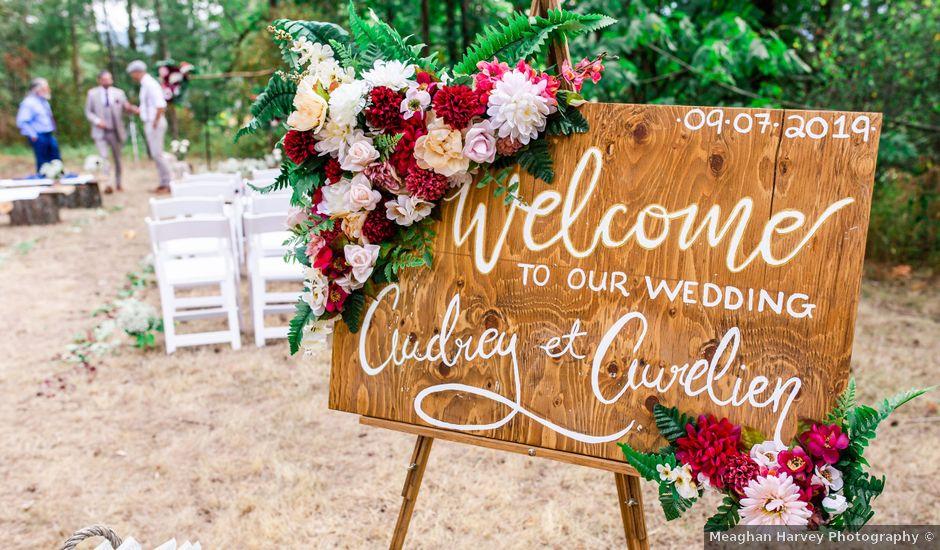 Aureline and Audrey's wedding in Nanaimo, British Columbia