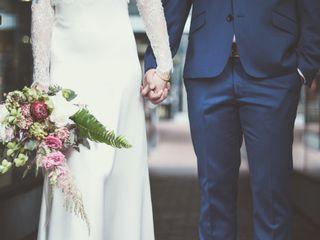 The wedding of Tara Sebela and Kevin Chow