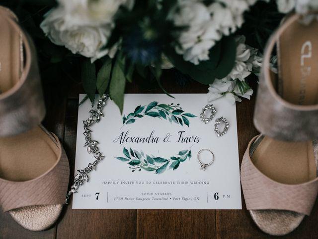 Travis and Alexandra's wedding in Port Elgin, Ontario 57
