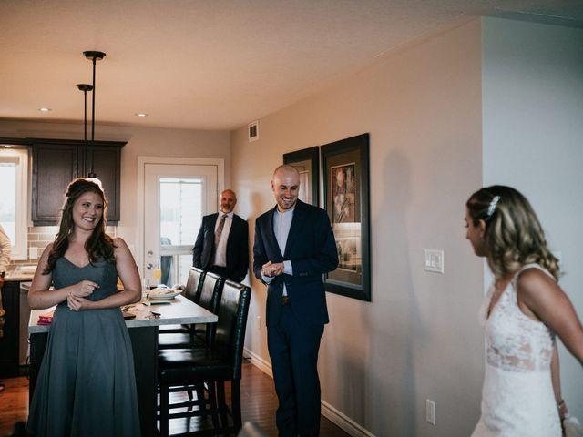 Travis and Alexandra's wedding in Port Elgin, Ontario 7