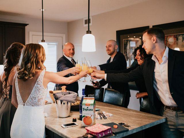 Travis and Alexandra's wedding in Port Elgin, Ontario 4