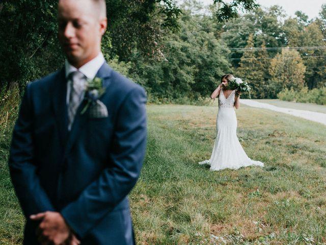 Travis and Alexandra's wedding in Port Elgin, Ontario 15