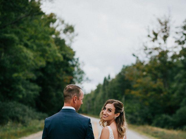 Travis and Alexandra's wedding in Port Elgin, Ontario 19