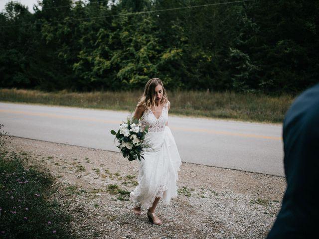 Travis and Alexandra's wedding in Port Elgin, Ontario 17