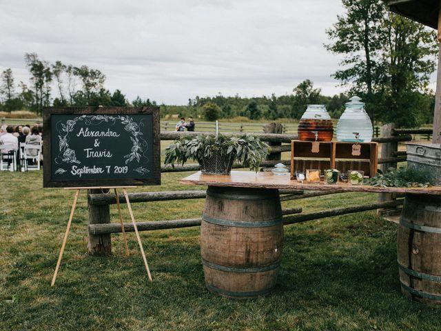 Travis and Alexandra's wedding in Port Elgin, Ontario 29