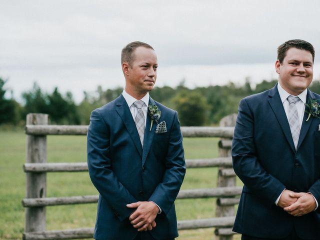 Travis and Alexandra's wedding in Port Elgin, Ontario 41